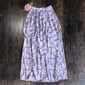 Painted Threads LONG skirt sz XS Anthropologie